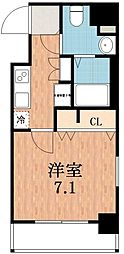ポルト・ボヌール四天王寺夕陽ヶ丘ミラージュ[7階]の間取り