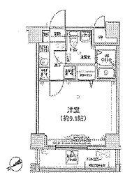 グランフォース東高円寺[5階]の間取り