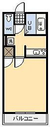 メゾンロワール[507号室]の間取り