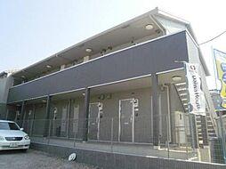 埼玉県川越市藤間の賃貸アパートの外観