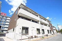 愛知県名古屋市名東区上社2丁目の賃貸アパートの外観