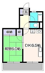 コジマコーポ[3階]の間取り