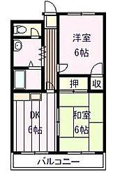小泉ハイム[4階]の間取り