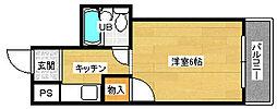 柴崎南千田ビル[305号室]の間取り