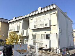 滋賀県彦根市戸賀町の賃貸アパートの外観