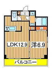 INSURANCE BLDG6[4階]の間取り