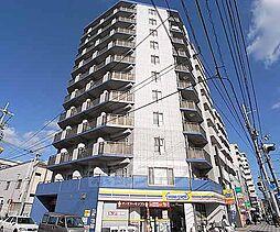 京都府京都市下京区間之町通七条上る材木町の賃貸マンションの外観