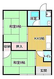 [一戸建] 静岡県浜松市中区高丘東4丁目 の賃貸【静岡県 / 浜松市中区】の間取り
