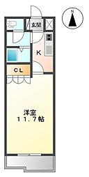 埼玉県さいたま市岩槻区加倉4丁目の賃貸アパートの間取り