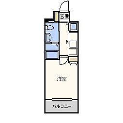 アクアシティ別府ステーション[7階]の間取り