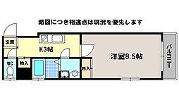 京福電気鉄道北野線 北野白梅町駅 徒歩14分