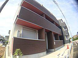 千葉県柏市旭町4丁目の賃貸アパートの外観