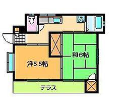 [一戸建] 東京都葛飾区新宿4丁目 の賃貸【東京都 / 葛飾区】の間取り