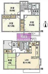 [一戸建] 神奈川県横浜市南区別所7丁目 の賃貸【/】の間取り