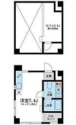 埼玉県さいたま市南区南浦和3の賃貸マンションの間取り