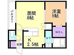 バス くしろバスイオン釧路店下車 徒歩7分の賃貸アパート