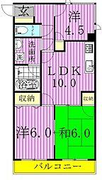 森田ビル[5階]の間取り