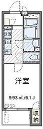 ミランダLUANA[1階]の間取り