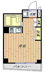 メゾンド今小路 603号室[6階]の間取り