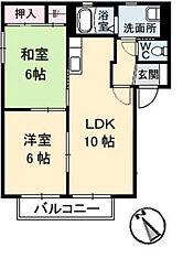 カミーリア C棟[1階]の間取り