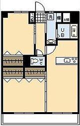 エアフォルクIII[4階]の間取り