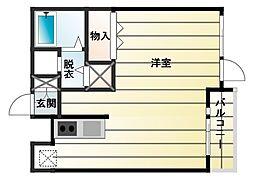 ウインベルデュエット東松山2[3階]の間取り