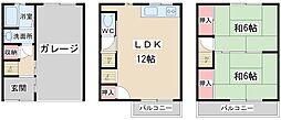[一戸建] 大阪府大阪市西淀川区大和田3丁目 の賃貸【/】の間取り