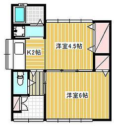 [一戸建] 神奈川県藤沢市大鋸 の賃貸【神奈川県 / 藤沢市】の間取り