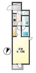 COZY大曽根[4階]の間取り
