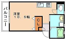 Nano One[2階]の間取り