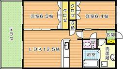 プライムステージ[1階]の間取り