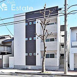 愛知県名古屋市中川区柳堀町の賃貸アパートの外観