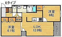 グリーンフルハウス[2階]の間取り