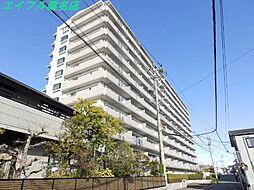 三重県桑名市太一丸の賃貸マンションの外観
