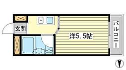 サンワプラザ福崎I[311号室]の間取り
