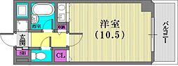 コーラルウェイⅡ[5階]の間取り