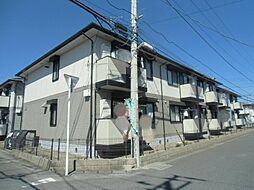 千葉県東金市田間3丁目の賃貸アパートの外観
