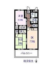 ウルラ神島U[302号室]の間取り