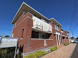 千葉県成田市大清水の賃貸アパートの外観