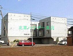 北海道札幌市東区伏古三条5丁目の賃貸アパートの外観