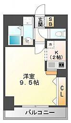 ディアコート小曽根[2階]の間取り
