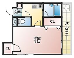 KAマンション[3階]の間取り
