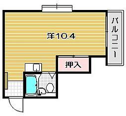 ロイヤルキャビン[2階]の間取り