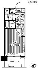 アルテーヌ新横浜(7-10F)[8階]の間取り