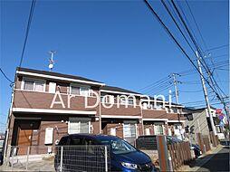 千葉県松戸市古ケ崎3丁目の賃貸アパートの外観