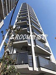 東京都渋谷区幡ヶ谷3丁目の賃貸マンションの外観