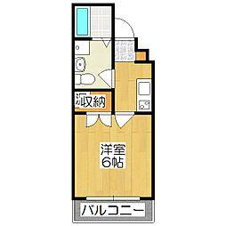 京都今出川レジデンス[202号室]の間取り