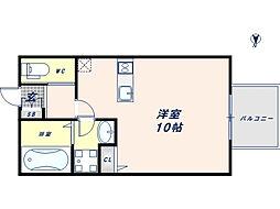 ALEGLIA東大阪[1階]の間取り