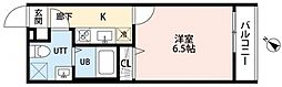レオーネ南柏[105号室号室]の間取り