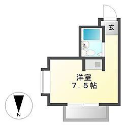 プレアール名古屋御器所[4階]の間取り